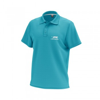 Airness Men's polo shirt, turquoise stand 3609031029027