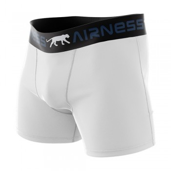 Airness cotton boxers plain white 3606911592176 - pack of 3