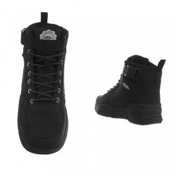 Ankle Boots Elong 8867-black