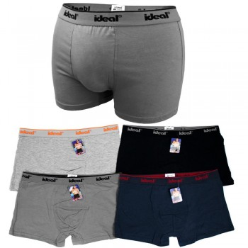 Cotton boxers Ideal 4XL-6XL D26101 - pack of 4