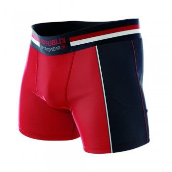 No Publik cotton boxers red / navy 3606913185963 - pack of 3