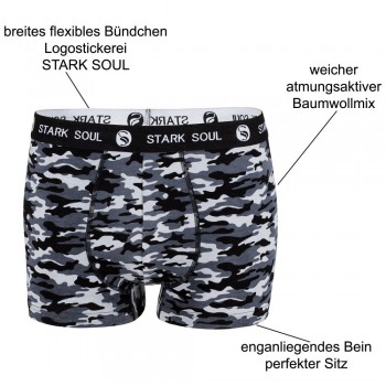 Stark Soul men's pant coton in Camouflage - Optics 1016 - pack of 3