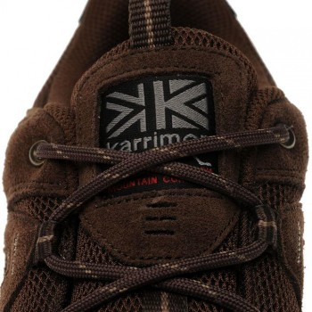Karrimor Summit Mens Walking Shoes Brown