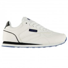 Kappa Persaro Mens Trainers White