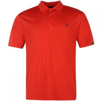 Dunlop Plain Polo Shirt Mens