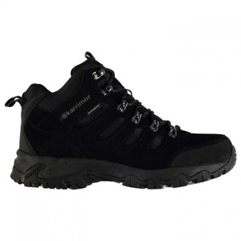 Karrimor Mount Mid Mens Walking Boots Black
