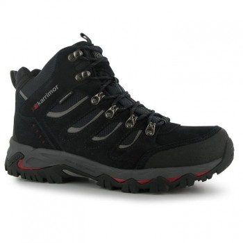 Karrimor Mount Mid Mens Walking Boots Navy