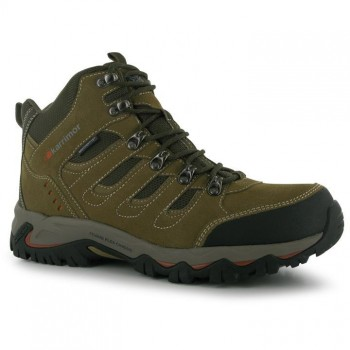 Karrimor Mount Mid Mens Walking Boots Taupe